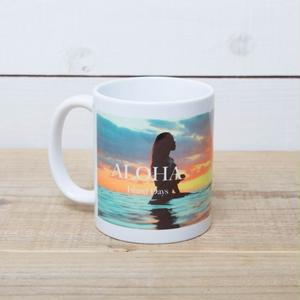 【ALOHA Island Days Collection】マグカップ-Island Girl-