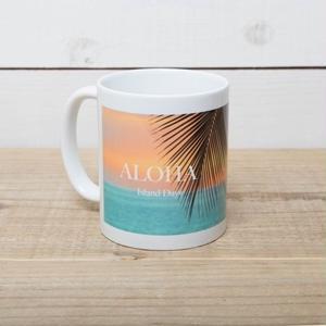 【ALOHA Island Days Collection】マグカップ-Kona Sunset-