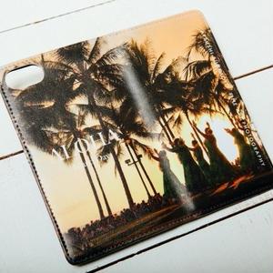 【ALOHA Island Days Collection】マグネットタイプiPhoneケース-Hulalea-