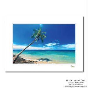 """Maui Beach Day""マットプリント"