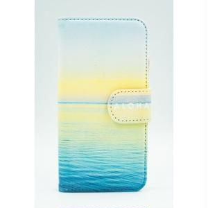 "《BULK SALE》iPhoneSE,6,6S対応 手帳ケース ""Molokai Sunrise"""
