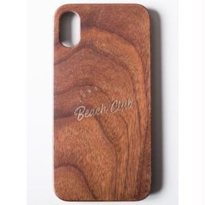 "Wooden iPhone Cover ""Sunshine Beach Club"""
