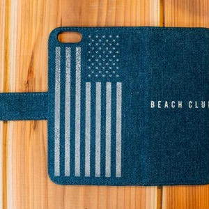 DENIM ダイアリーカバー BEACH CLUB The Star-Spangled Banner