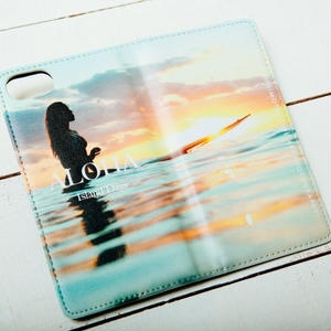 【ALOHA Island Days Collection】マグネットタイプiPhoneケース-Island Girl-
