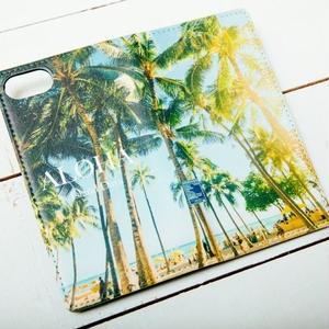 【ALOHA Island Days Collection】マグネットタイプiPhoneケース-AlohaHonolulu-