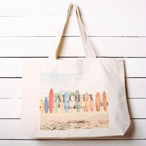 【ALOHA Island Days Collection】トートバッグ-Surf Town-