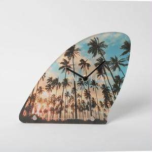 "【ALOHA Island Days Collection】フィン時計""Kauai Palm Trees"""