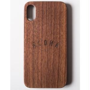 "Wooden iPhone Cover ""ALOHA"""