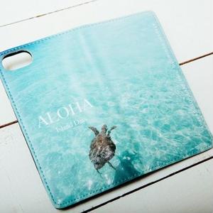 【ALOHA Island Days Collection】マグネットタイプiPhoneケース-Honuea-