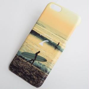 7Plus対応 CALIFORNIA iPhone ハードカバー California Sunset Surf