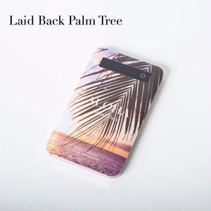 "【ALOHA Island Days Collection】モバイルバッテリー""LaidBackPalmTree"""