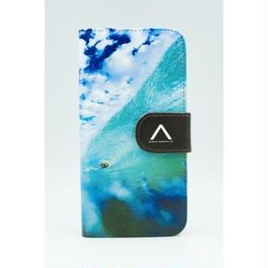 "《BULK SALE》iPhoneSE,6,6S対応 手帳ケース ""The Beautiful Underwater World"""