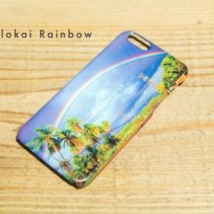 ハワイフォト iPhoneハードカバー Island Rainbow