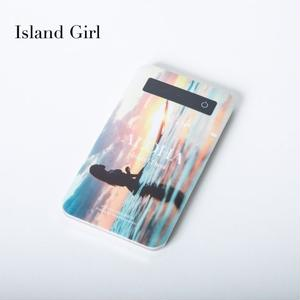 "【ALOHA Island Days Collection】モバイルバッテリー""IslandGirl"""