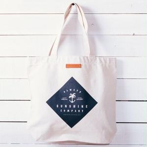 Always Sunshine Co. 2017LOGO TOTE BAG ナチュラル