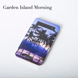 "【ALOHA Island Days Collection】モバイルバッテリー""GardenIslandMorning"""