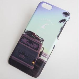 7Plus対応 CALIFORNIA iPhone ハードカバー Wagen Bus