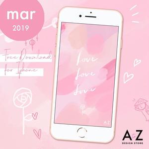 【限定】3月のスマホ壁紙 無料ダウンロード!
