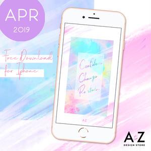 【限定】4月のスマホ壁紙 無料ダウンロード!