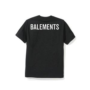 """18SS"" BALEMENTS バレモン BALEMENTS T-SHIRT -Black-"