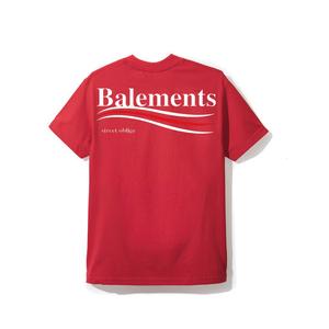 """18SS"" BALEMENTS バレモン BERNIE T-SHIRT -Red-"