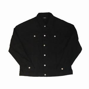 【17AW】PANDEMIC  パンデミック Over size ARC Denim Jacket -Black-