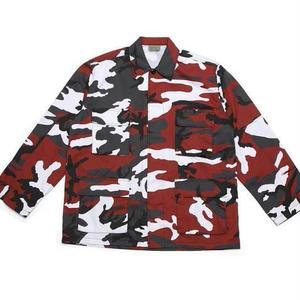 【17AW】PANDEMIC×Rothco  パンデミック ARC Logo Camo BDU Shirts -Red Camo-