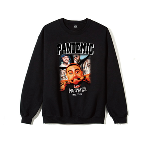 """18AW""  PANDEMIC  PREMIUM Sweat  -R.I.P. Mac miller -  -1color-"