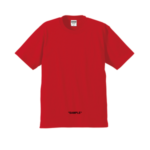 """18SS""再入荷!!  PANDEMIC  ""SAMPLE"" LOGO Tee RED -6color-"