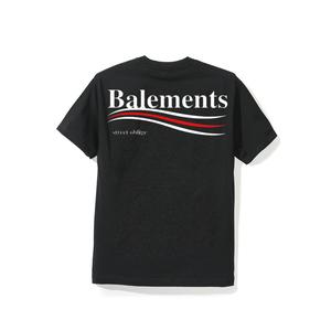 """18SS"" BALEMENTS バレモン BERNIE T-SHIRT -Black-"