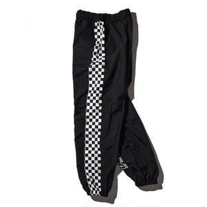 """""""18SS""""  DLSM ディーエルエスエム DUALISM CHECKERD FLAG TRAINING Pants  -Black-"""