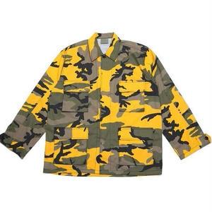 【17AW】PANDEMIC×Rothco  パンデミック ARC Logo Camo BDU Shirts -Yellow Camo-