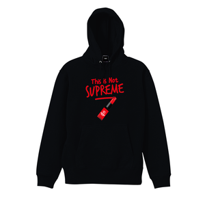 """18AW""    PANDEMIC  Not rouge  Hoody    -Black-"