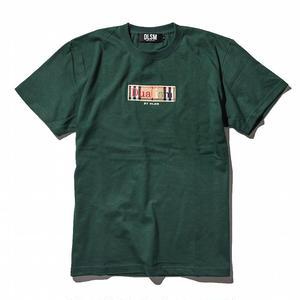 """18SS"" DLSM ディーエルエスエム B-CHECK BOX LOGO TEE -Green-"
