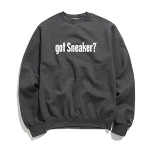 """""""19SS""""   PANDEMIC×CHAMPION  got Sneaker massege  Sweat    -C.Gray-"""