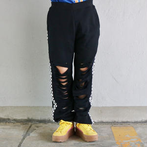 TATTERED SWEAT PANT