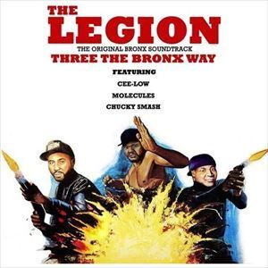 THE LEGION / THREE THE BRONX WAY [LP]