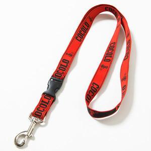 BIG LOGO NECK STRAP(RED)