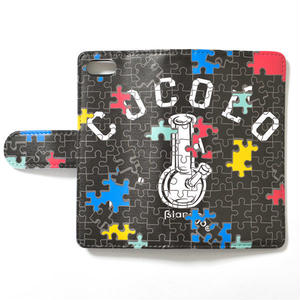 PUZZLE BONG iPHONE CASE (BLACK)