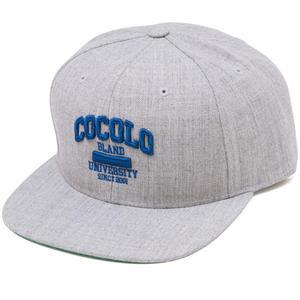 COCOLO UNIVERSITY SNAPBACK (HEATHER GRAY)