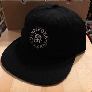 酔CLASSIC 6p cap (BLACK)