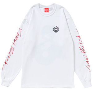 VINYL BITCH NAIL&VINYL L/S tee (WHITE)