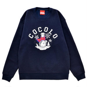 WINTER BONG CREWNECK SWEAT 8NAVY)