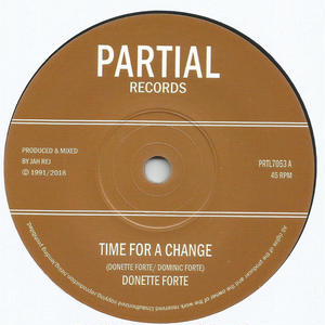 Donette Forte/Time For A Change [7INCH]