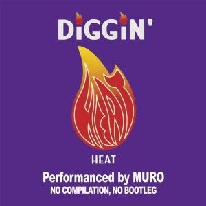 Muro / Diggin'Heat-Remaster Edition- Dead Stock [2MIX CD]