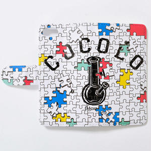 PUZZLE BONG iPHONE CASE (WHITE)