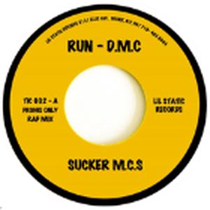 12月上旬出荷予定 - RUN DMC / SUCKER MC'S [7inch]