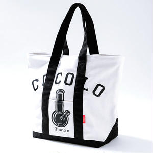CLASSIC BONG TOTE BAG (BLACK/WHITE)