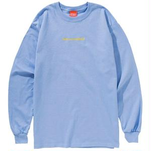 MADE IN COCOLO BLAND L/S TEE (LT-BLUE)