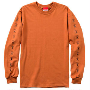SLEEVE BONG L/S TEE Ver.2017 (DARK ORANGE)